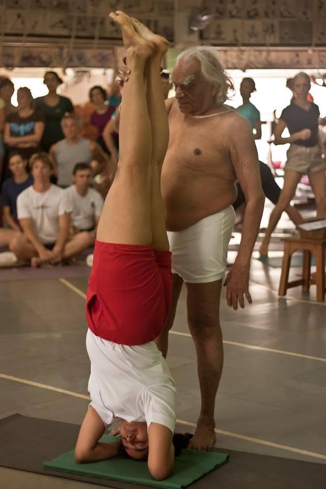 guruji and abi
